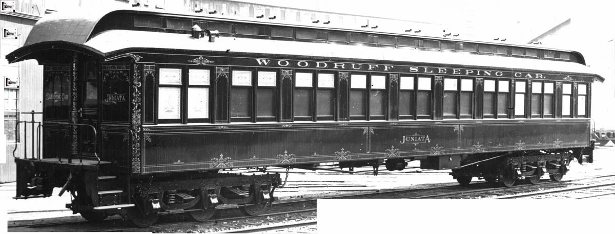 Ho 1870s And 1880s Pullman Palace Sleeping Cars